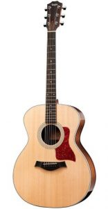 Taylor 214e Grand Auditorium acoustic shape