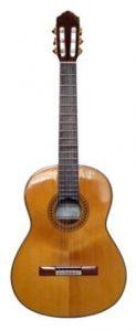 classical guitar shape