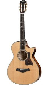 taylor 612ce grand concert acoustic guitar
