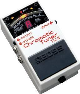 pedal guitar tuner