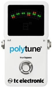 polyphonic guitar tuner