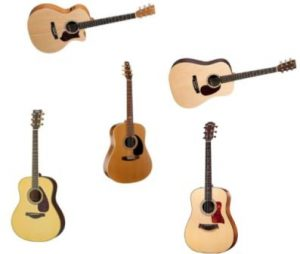 Top 5 Acoustic Guitars Under 1000 Dollars