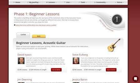 Jamplay beginner lessons