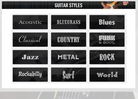 guitar tricks styles