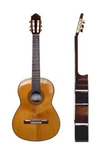 steel strings on a classical guitar