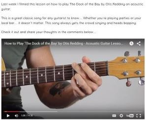 best guitar lessons for beginners