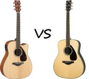 What is the Difference Between Acoustic Guitar and Electric-Acoustic Guitar