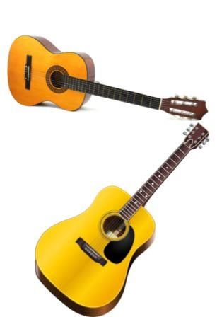 should i start on a nylon or steel string guitar expert advice. Black Bedroom Furniture Sets. Home Design Ideas