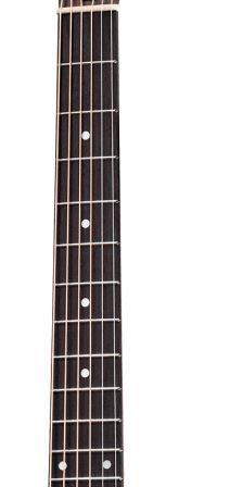 Ebony fretboard guitars
