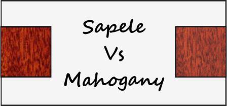Sapele vs mahogany