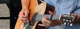 finish on an acoustic guitar