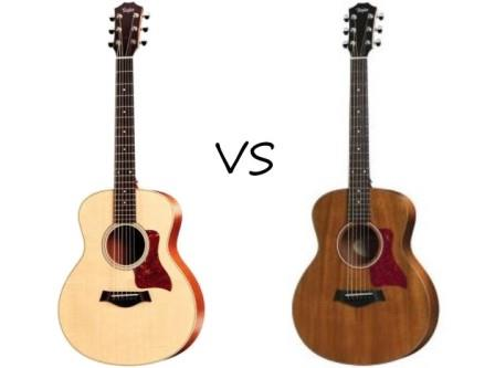Taylor GS Mini vs GS Mini Mahogany