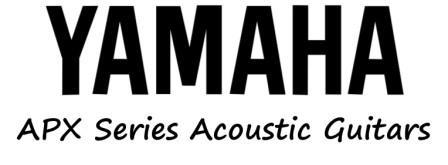 Yamaha APX Series