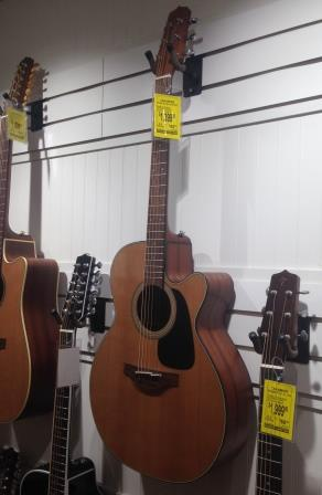 Takamine P1NC on the shelf