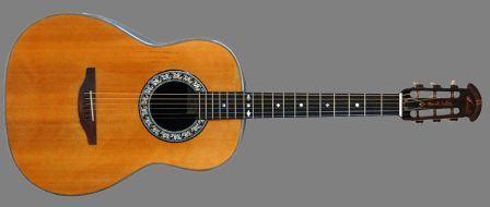 Josh Whites 1966 Custom Ovation Acoustic Guitar