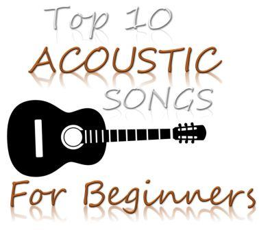 Best Beginner acoustic guitar songs