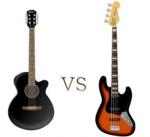 Acoustic vs Bass Guitar: Which is better for Beginners?