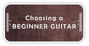 Choosing a beginner guitar