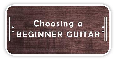 Choosing a beginner guitar