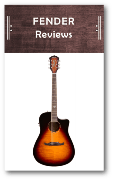 Fender Acoustic Guitar Reviews