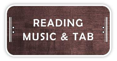 Reading Music and Tab for guitar