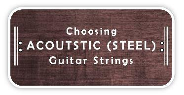 choosing acoustic guitar strings