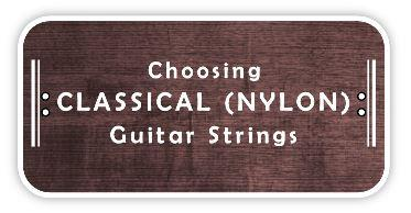 choosing nylon guitar strings